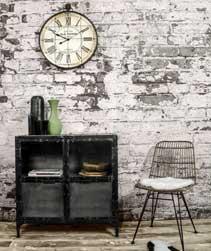 Metalen vintage meubelen