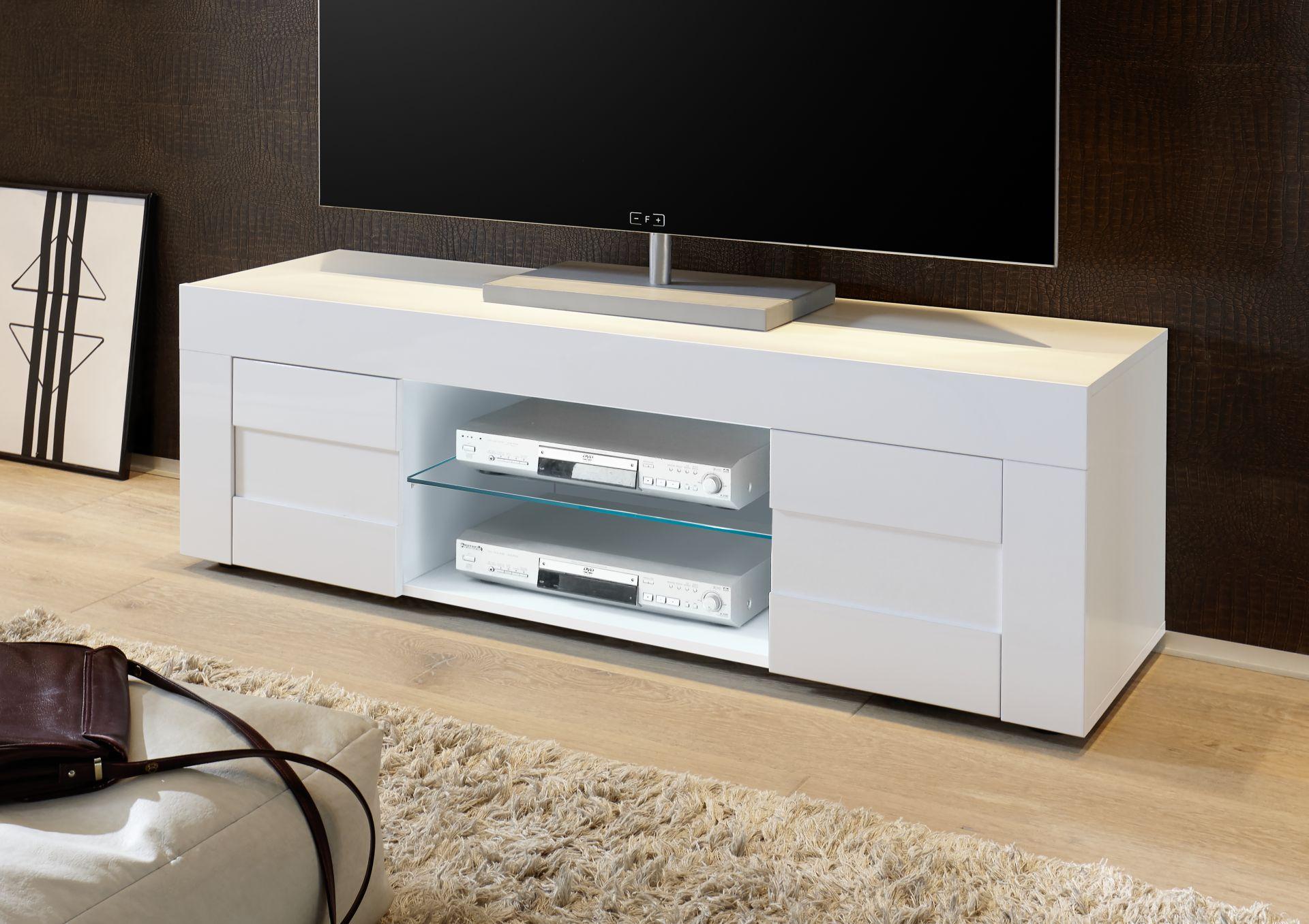 Goedkoop hoogglans tv meubel aktie wonen