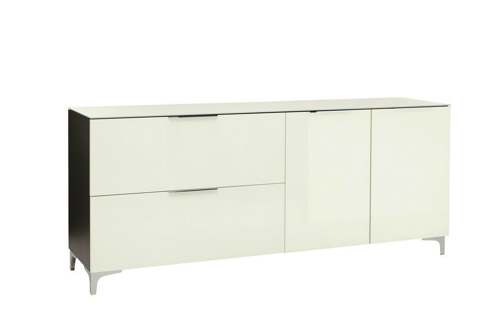 design dressoir wit glas