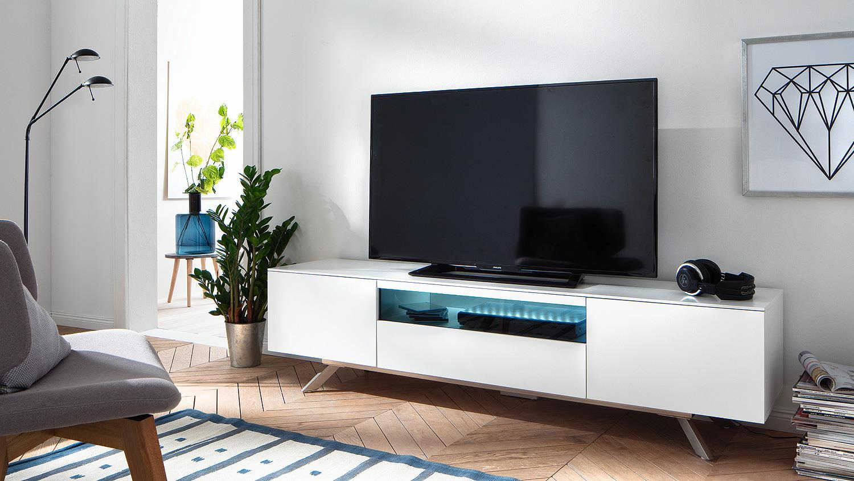 Moderne Glazen Tv Meubel.Design Tv Meubel Betaalbaar Aktiewonen Nl