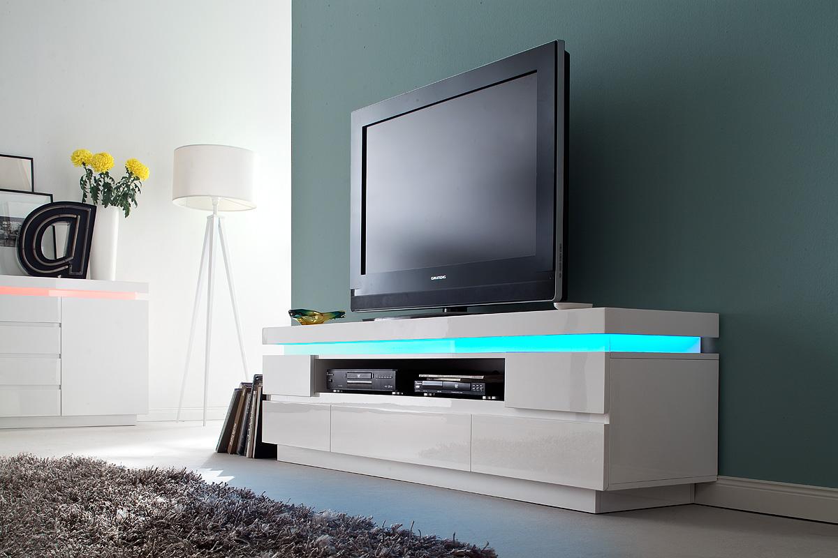 Modern Tv Meubel : Modern tv meubel hoogglans aktie wonen