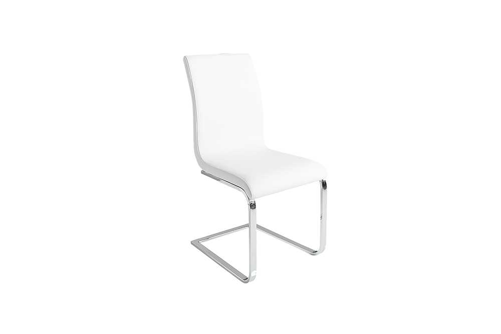 Witte moderne stoelen eetkamer aktie wonen