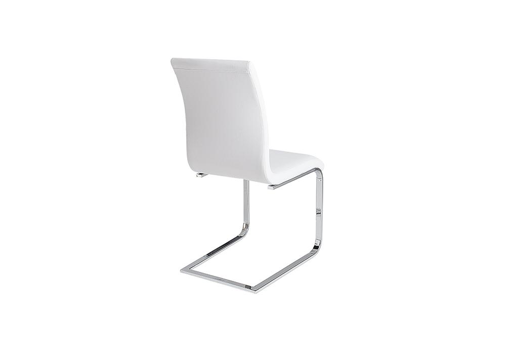 24 Design Stoelen.Witte Moderne Stoelen Eetkamer Aktie Wonen Nl