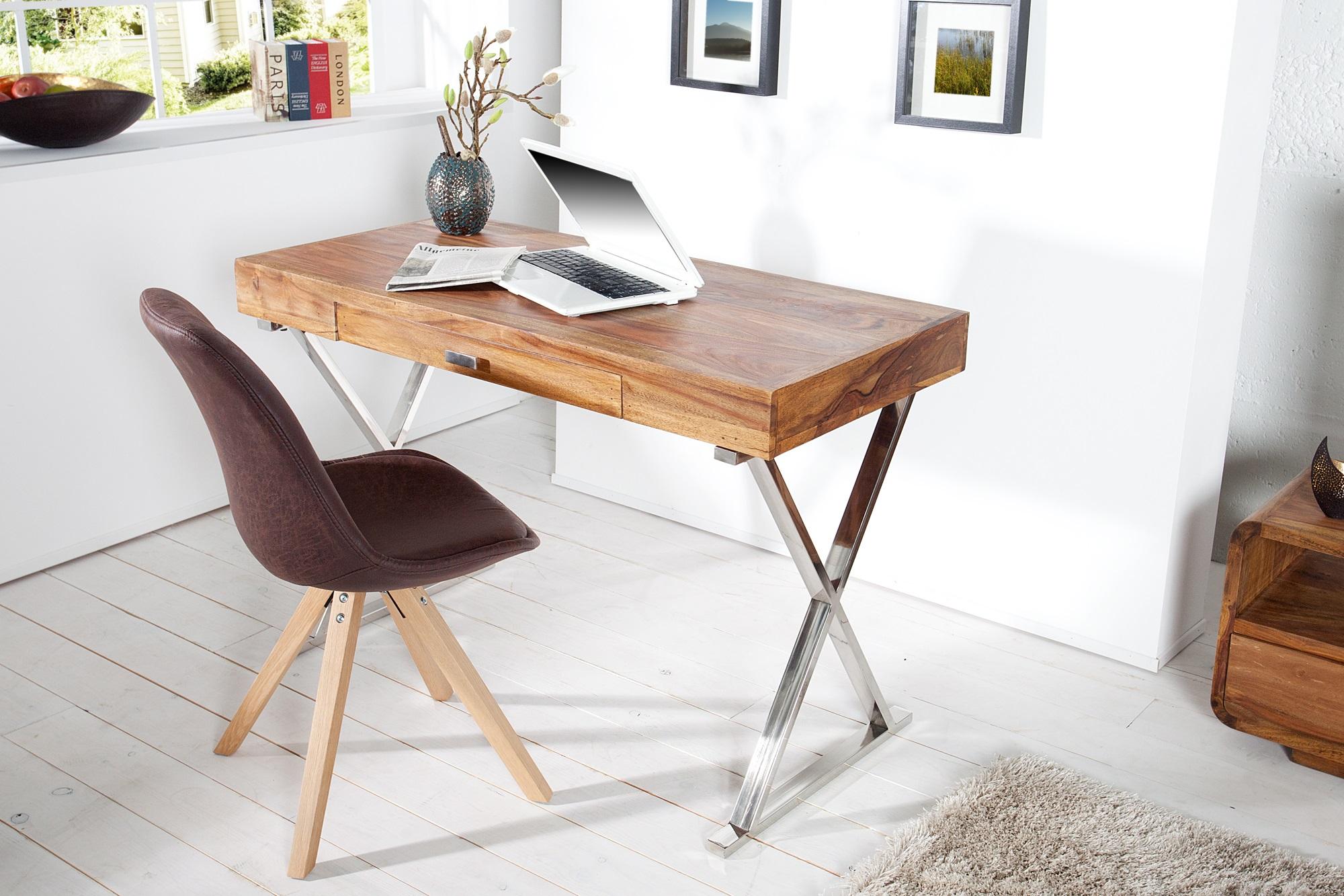 Design bureau massief hout aktie wonen