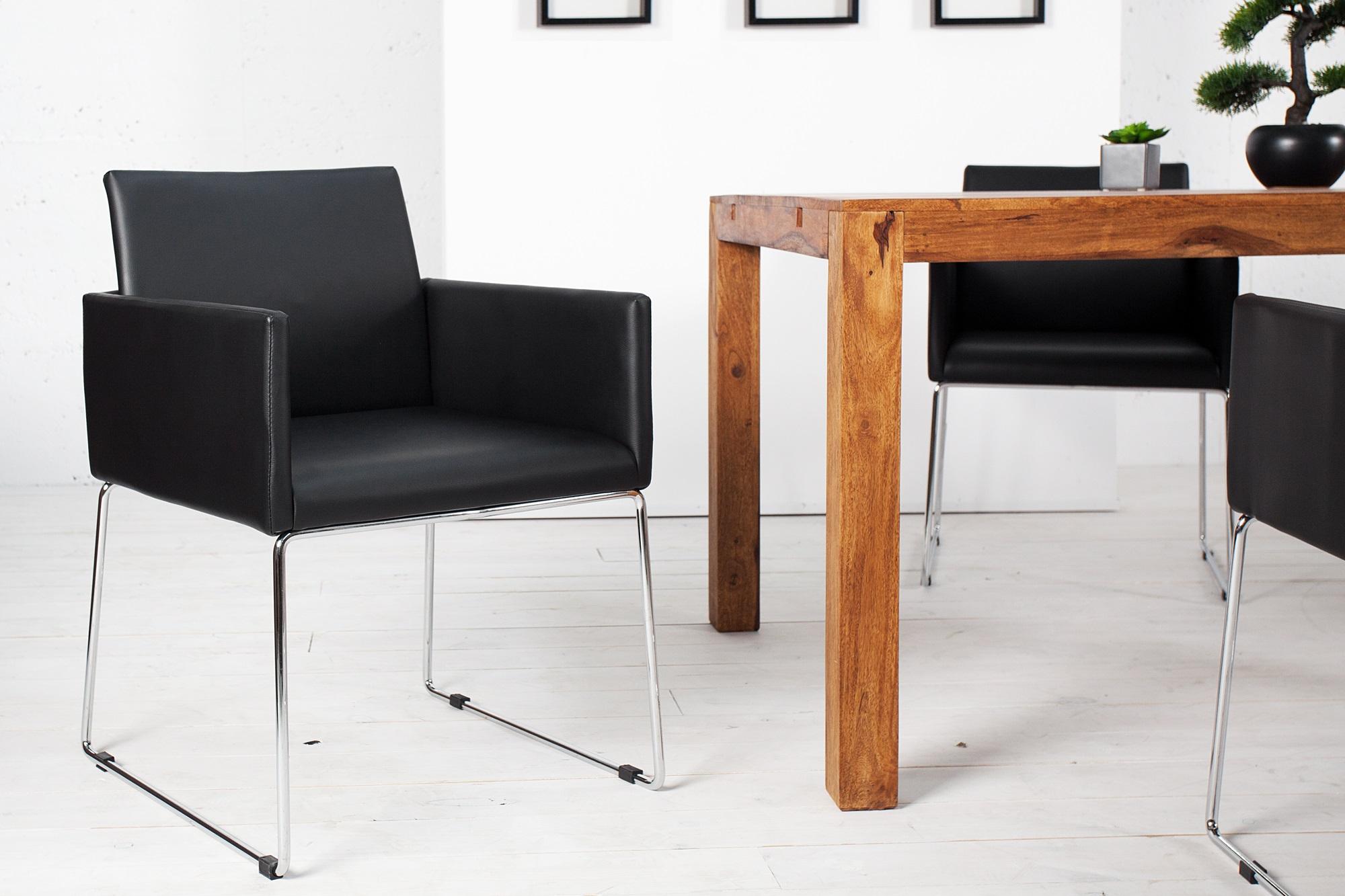 Eetkamerstoelen met armleuning aktie wonen nl for Design eetkamerstoelen outlet