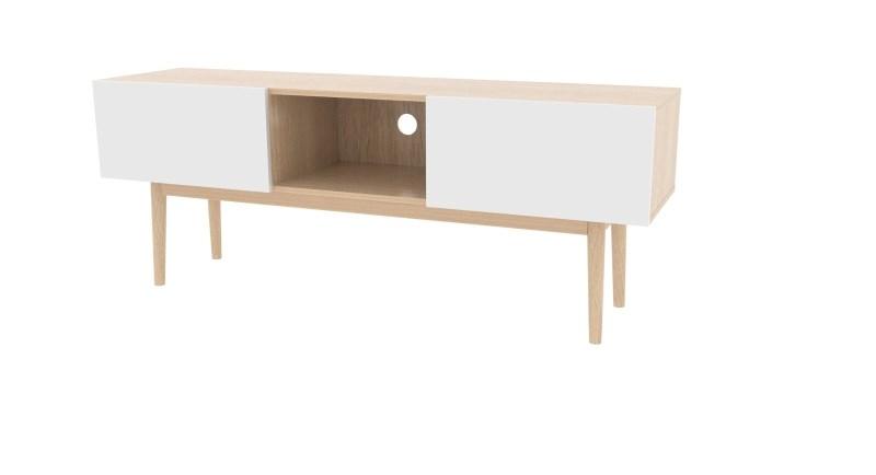 Modern tv meubel eiken aktie wonen