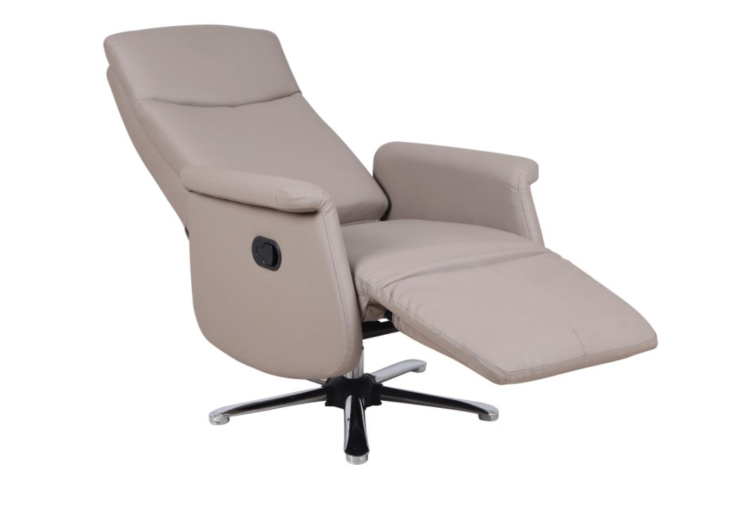 luxe relax fauteuil taupe