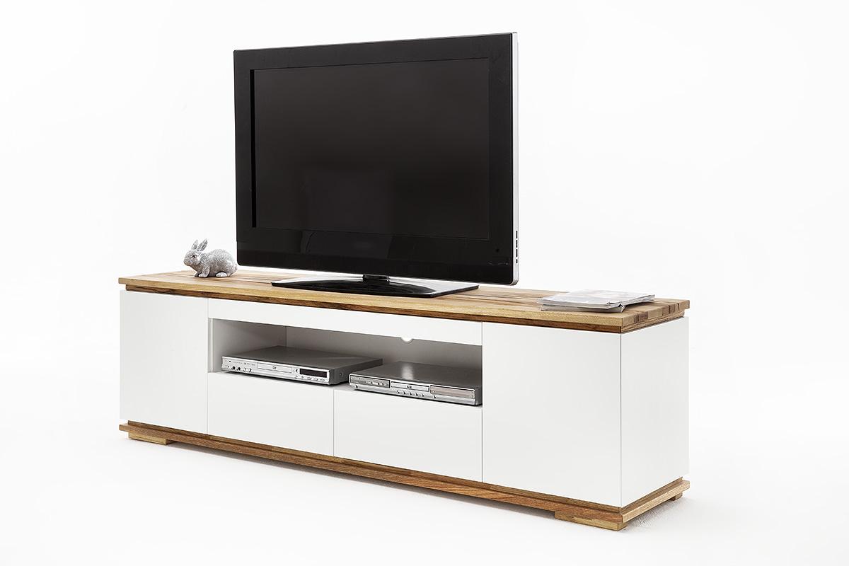 Eettafel industrieel tv meubel kast van steigerhout te