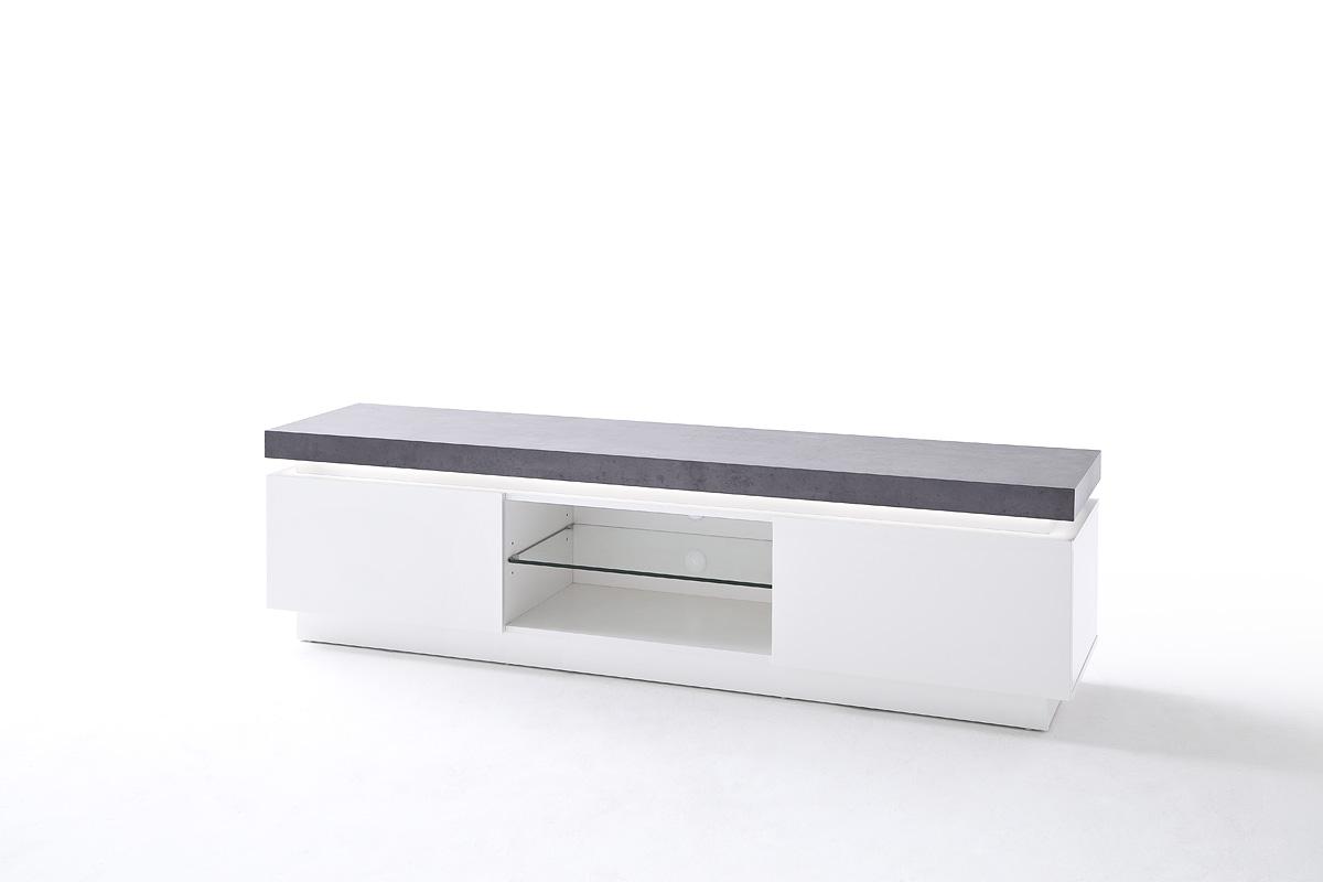 Witte Tv Meubel : Verdi tv kast zwevend tv meubel hoogglans wit zwart te koop