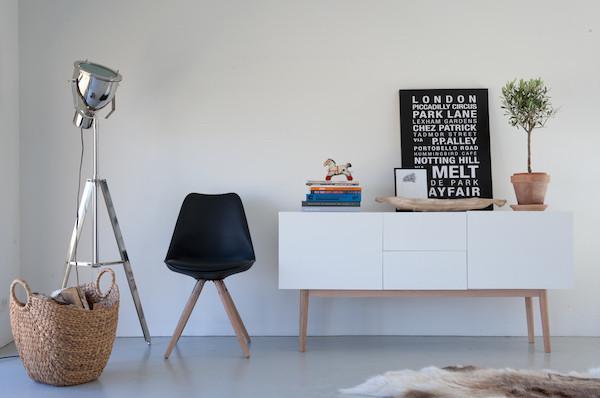 Wonen In Wit : Robin buro grenen wit geborsteld fsc ten cate wonen slapen