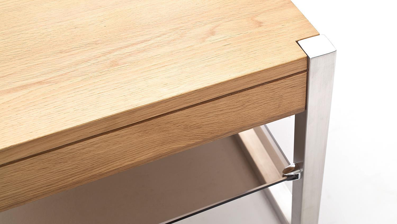 Betaalbare eiken design salontafel kopen aktie wonen