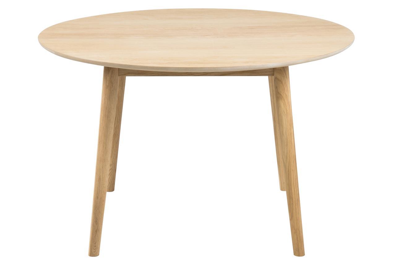 Ronde scandinavische eiken tafel aktie wonen