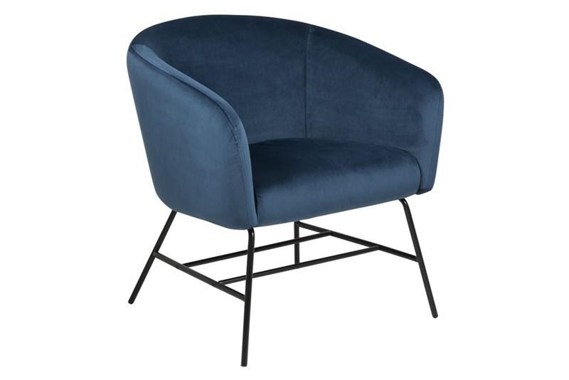 Blauwe Relax Stoelen.Moderne Blauwe Fauteuil Kopen Aktie Wonen Nl