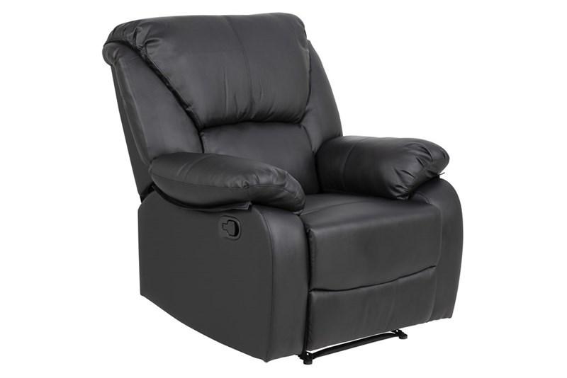 Zwarte Relax Fauteuils.Relax Fauteuil Zwart Kopen Aktie Wonen Nl
