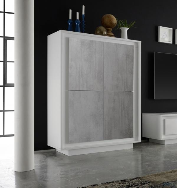 zwarte en witte hoogglans meubelen aktie wonen