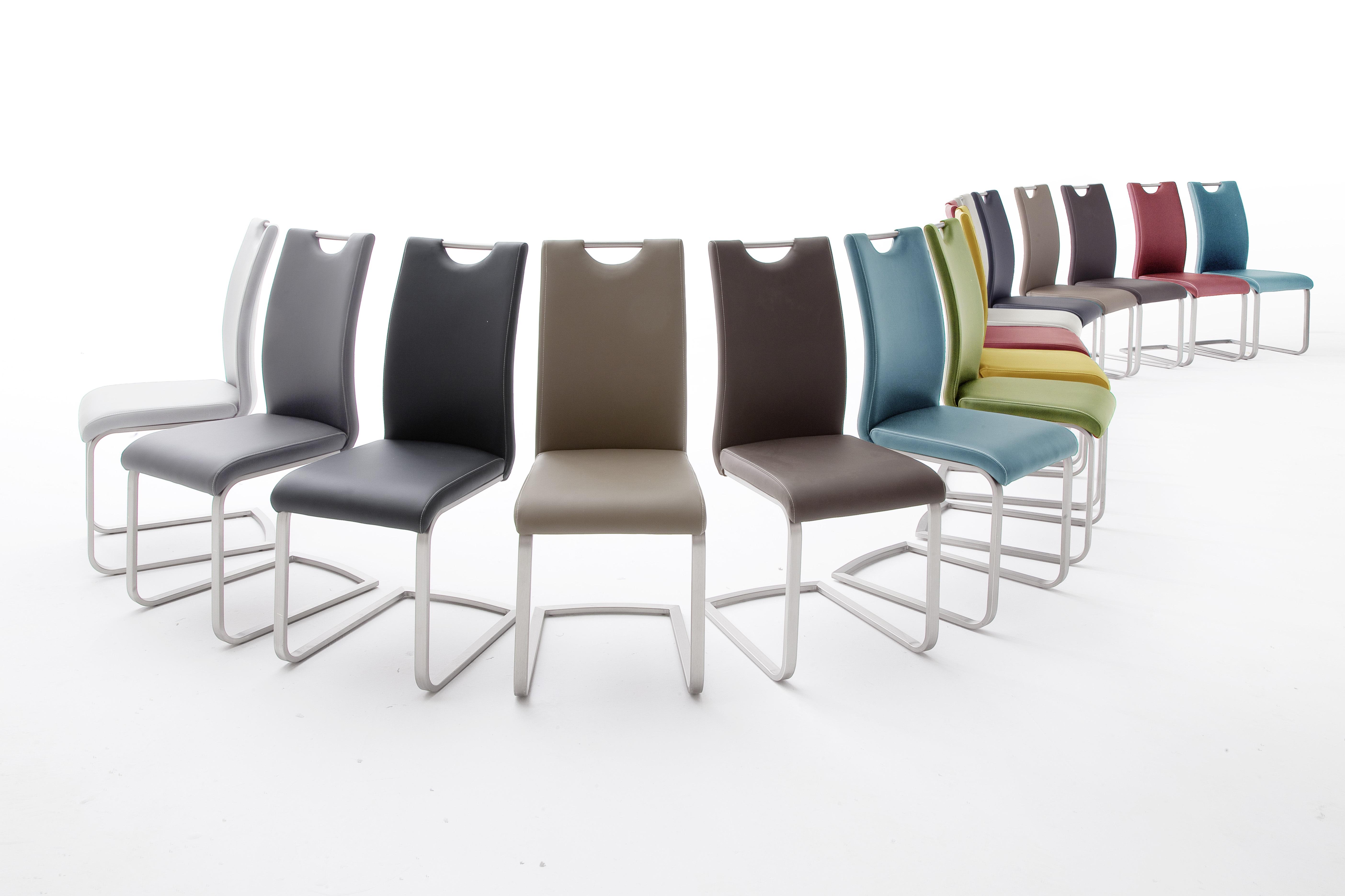 Witte Eetkamer Stoel : Eetkamerstoel diverse kleuren zwarte en witte hoogglans meubelen