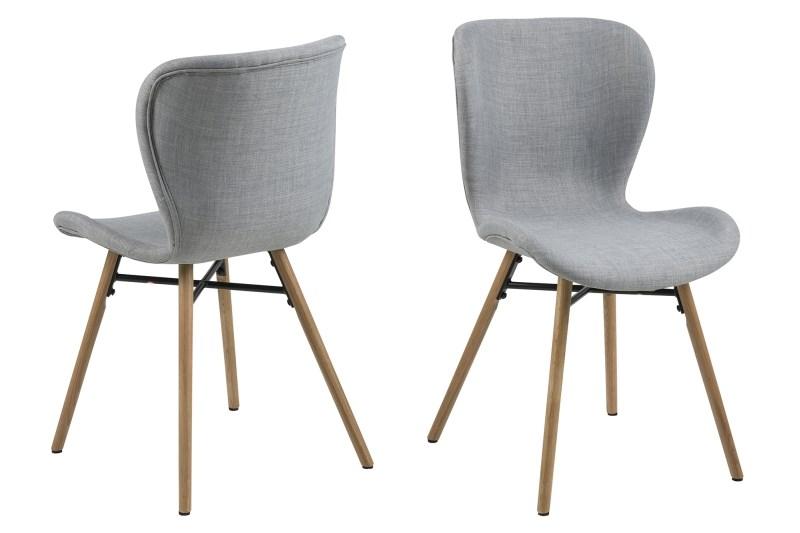 Scandinavische stoel grijs batilda stoel aktie wonen