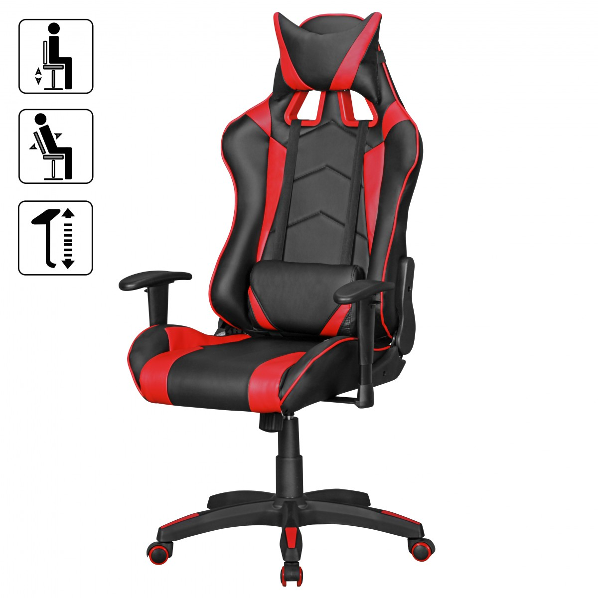 gaming chair rood