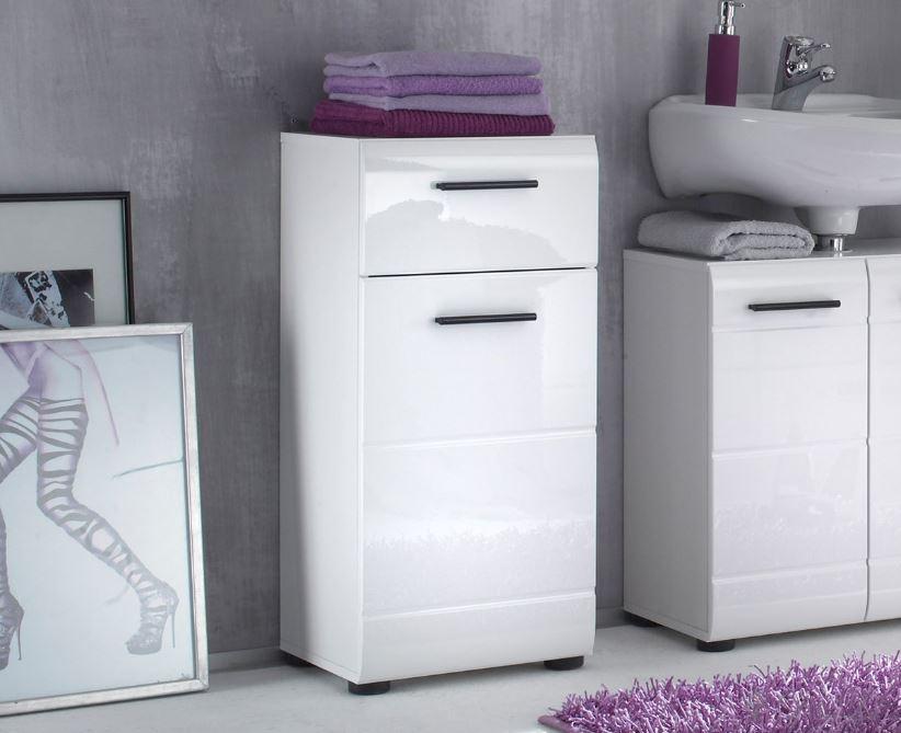 Badkamerkast Zwart Hoogglans : Badkamerkast zwart saniclear laundry badkamerkast zijdeglans