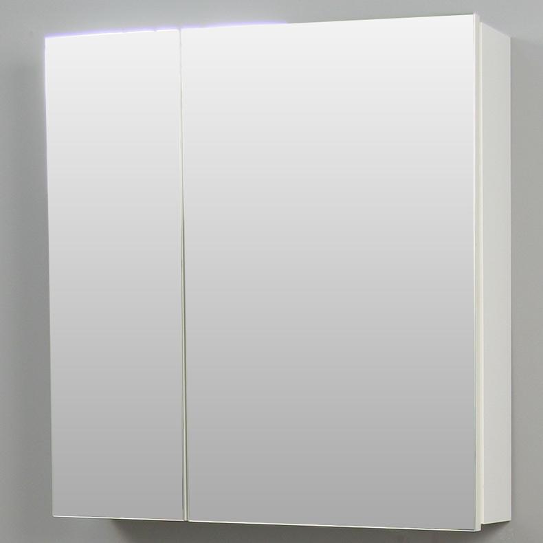 Badkamer Sanitair Gouda ~ Badkamer spiegelkast hoogglans wit  Aktie Wonen nl