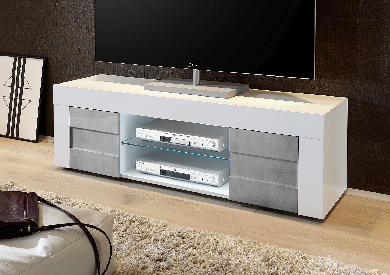 ≥ tv kast zwevend design dressoir wit hoogglans meubel kasten