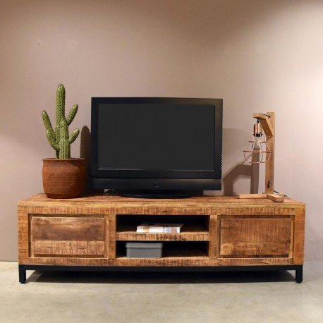 Tv Meubel Mango Hout 160 Cm Aktie Wonennl