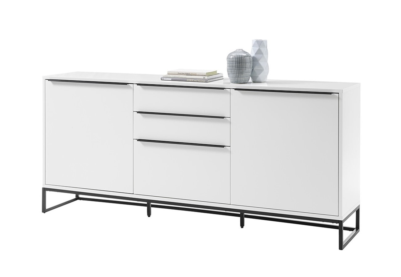 Lille dressoir mat wit