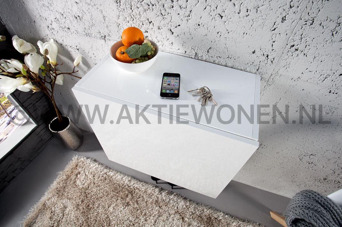 Slaapkamer In Kubus : Hangkast kubus hoogglans bestellen aktie wonen