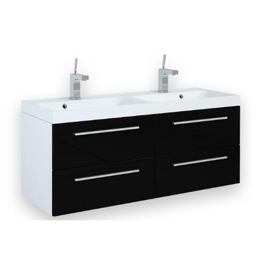 Ikea Badkamer Wastafels ~ Badkamermeubel Toledo Hoogglans Wit Showmodel Pictures to pin on