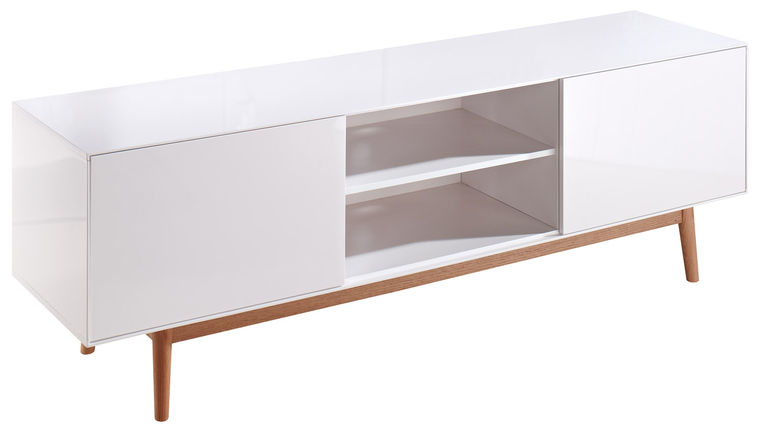 Retro tv meubel mat wit aktie webshop en for Vintage meubels