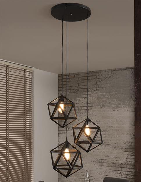 Fonkelnieuw Robuuste frame hanglamp | Aktie wonen .nl JT-97