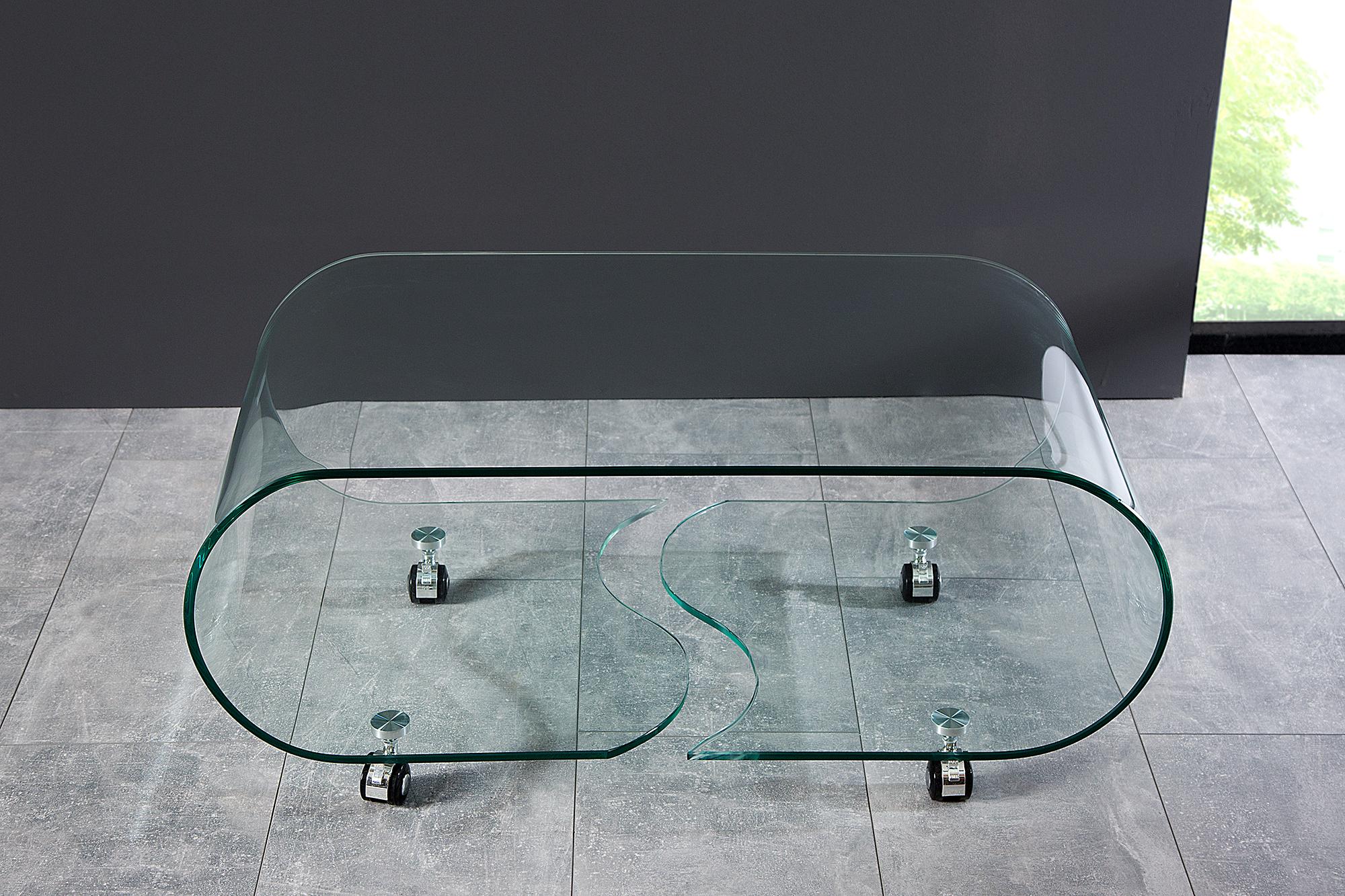 Glazen Salon Tafel.Glazen Salontafels Kopen Aktie Wonen Nl