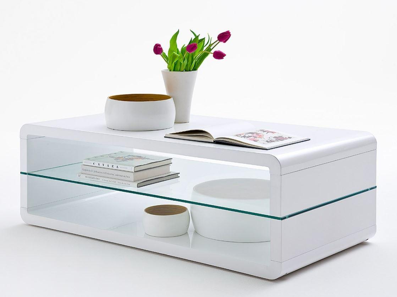 Salon Tafel Wit : Salontafel wit hoogglans aktie wonen