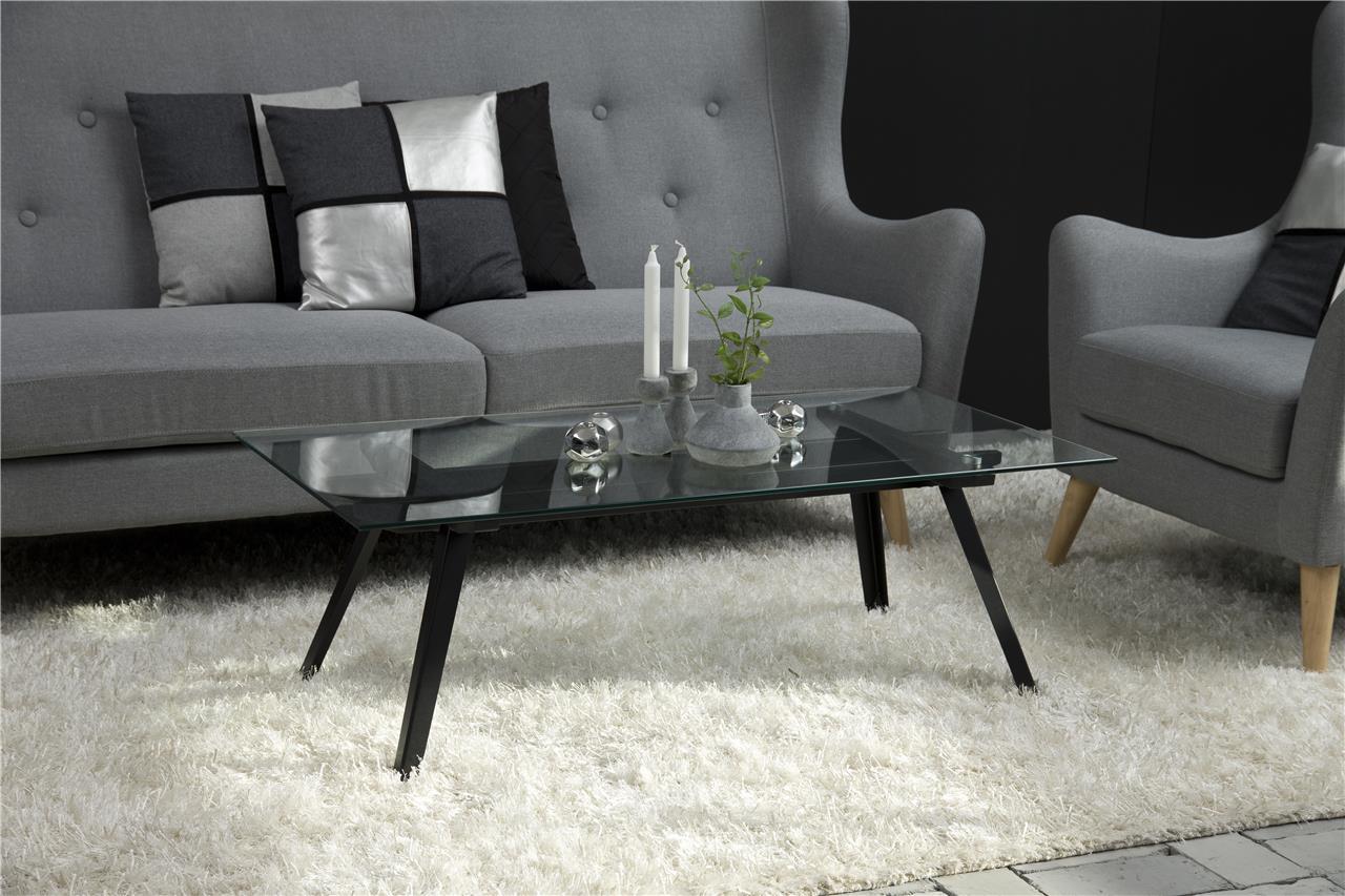 Salontafel Glas Zwart Metaal.Betaalbare Glazen Design Salontafel Kopen Aktiewonen Nl