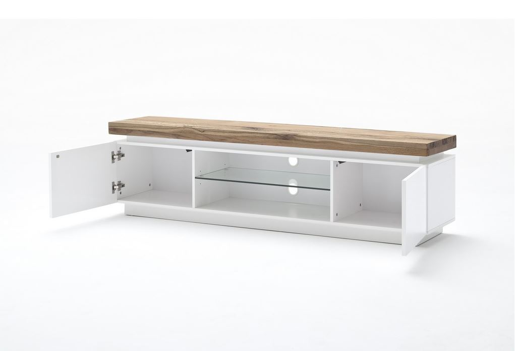 Mat wit tv meubel bestellen aktie wonen