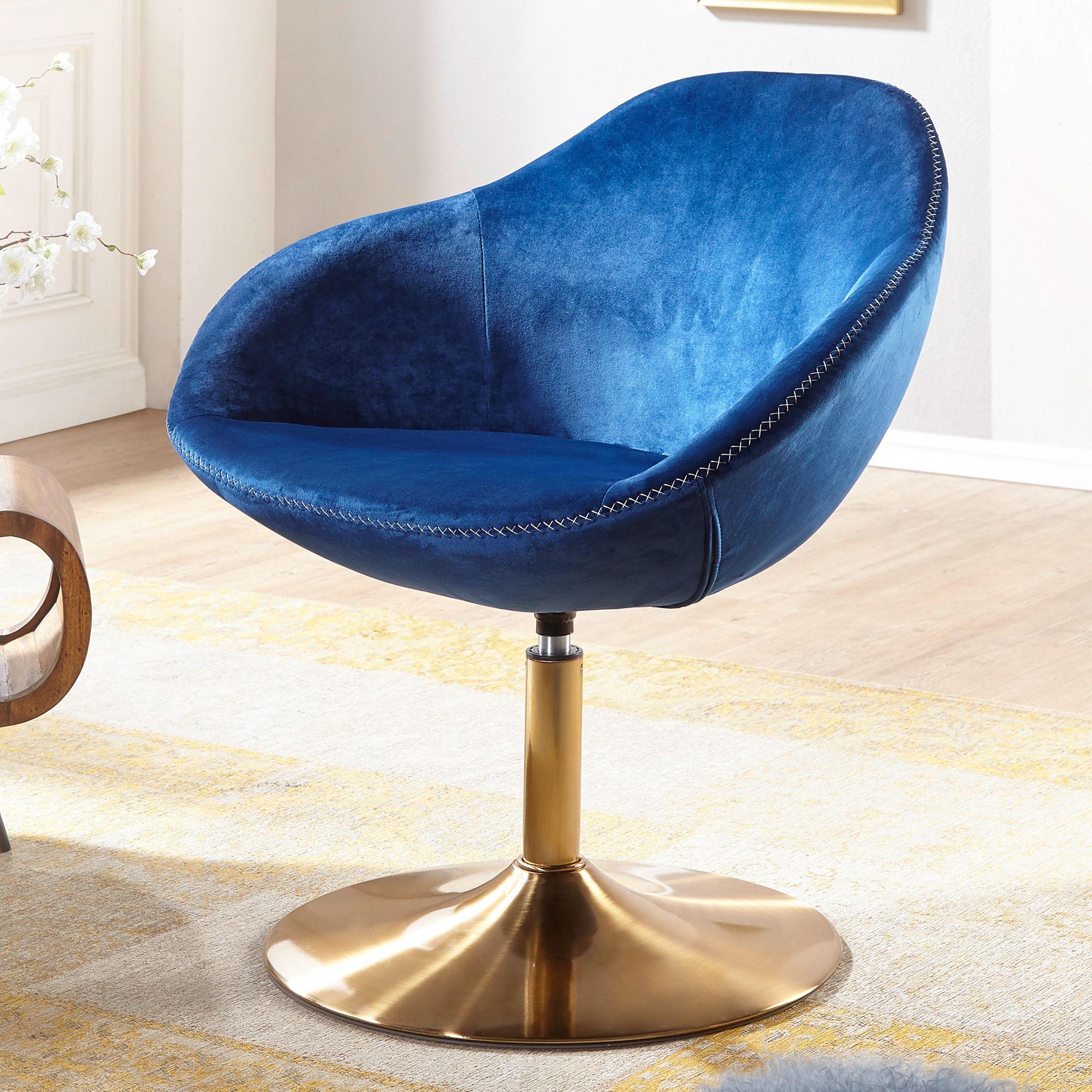 Blauwe Relax Stoelen.Lounge Fauteuil Blauw Aktiewonen Nl