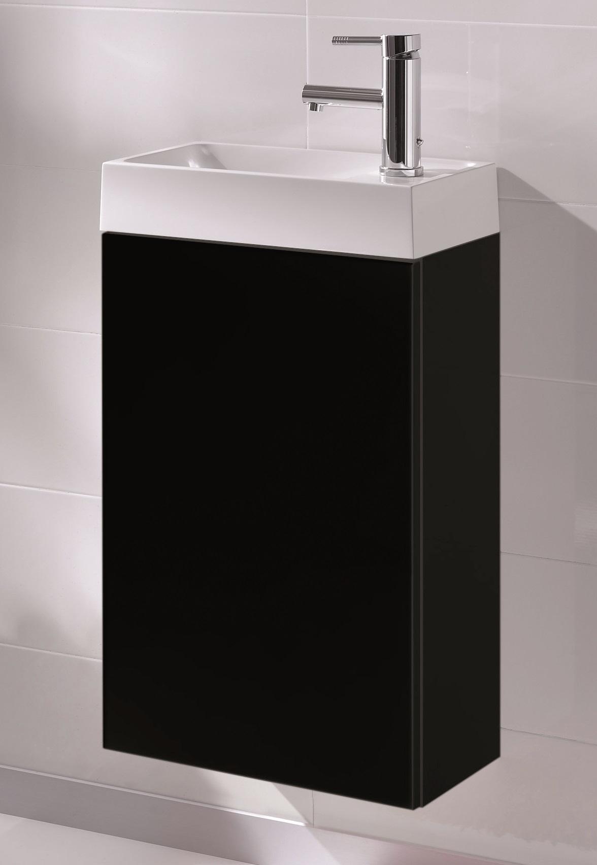 Toilet Meubel Zwart