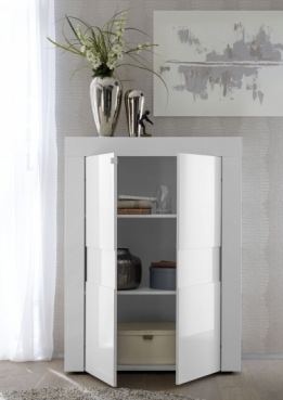 | highboard wit hoogglans