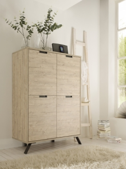highboard kast eiken look