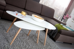 scandinavische salontafel set