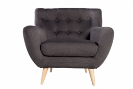 fauteuil antraciet
