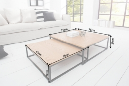 salontafel set eiken