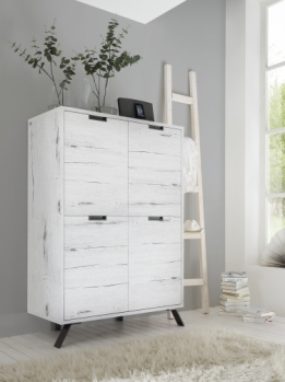 highboard kast wit eiken