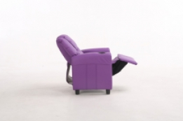 Relax kinder fauteuil paars