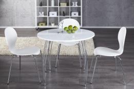 Witte ronde eettafel perfect beautiful ronde witte tafel nieuw