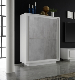 highboard mat wit betonlook