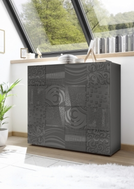 miro highboard 2 drs antraciet