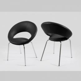 Trendy stoel houten poten grijs aktie - Hedendaagse stoelen eetkamer ...