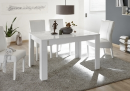 Eetkamertafel Vierkant Wit : ≥ eetkamertafel wit vierkant design van goossens