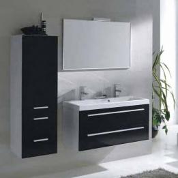 Badkamer spiegel met aluminium rand 80x60 aktie - Moderne badkamerkast ...